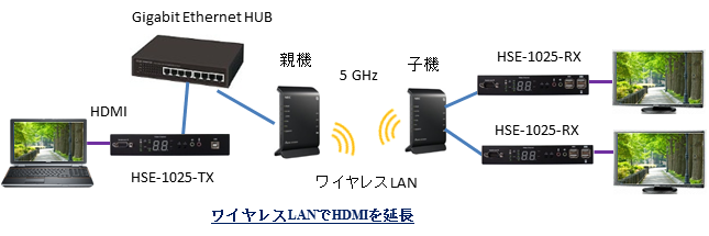HSE-1025 Wireless